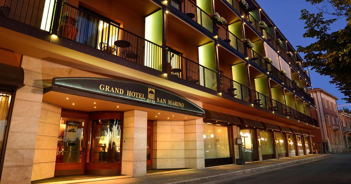 Hotel 4 stelle Repubblica di San Marino, Italia | Grand Hotel San Marino